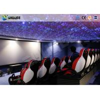 Buy 30 People Motion Chairs XD Theatre With Cinema Simulator System / Special Effect at wholesale prices