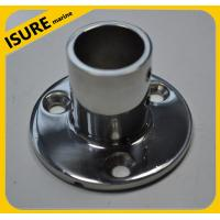 Quality Boat Deck Handrail Round Base 90 degree,marine hardware for sale