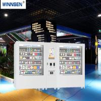 China Credit Card Cash Acceptor Snacks and Drinks Vending Kiosk with Remote Management System on sale