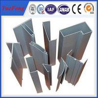 Quality Hot! solar glass curtain wall anodized aluminium profile supplier for sale