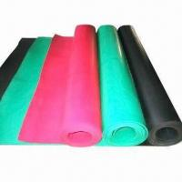 Quality Industrial Rubber Sheet, Made of NR, SBR, NBR, CR, EPDM, Hypalon, Silicone and Viton Rubber for sale
