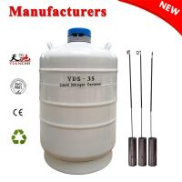 Liquid nitrogen semen storage container 35 L cryo vacuum flask price for sale