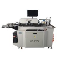 Quality Fully automatic Auto Bender with bending, cutting, notching and lipping 910C model for 1.5/2/3pt steel rule for sale
