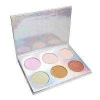 China 6 colors mineral cosmetics private label color pop eyeshadow for sale