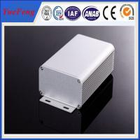 Quality 80*45*MM ALUMINUM EXTRUSION ELECTRONIC COMPONENT ENCLOSURE ANODIZING ALUMINIUM ENCLOSURE for sale