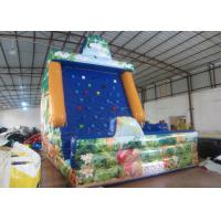 Quality Amument Park Inflatable Rock Climbing Wall Mountain Sports Games 5 X 4 X 6m for sale
