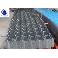 Quality Synthetic Resin Pvc Sheet For Roofing Corrugated Or Trapezoidal Double Roman Roof Tiles for sale