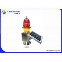Quality Low Intensity L810 Solar Aviation Obstruction Light AH-LS/A Dust To Dawn Operation for sale