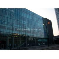 China Flat 10MM Tempered Safety Glass Low Visible Distortion , Milk White Laminated Glass for sale
