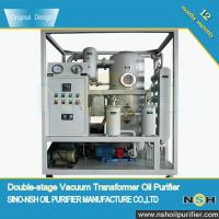 NSH Insulation Oil Purifier, VFD/VFD-R,double stage, Power Transformer Oil, remove water,improve oil insulation for sale