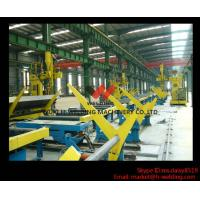 Quality SAW Motorized Moving H Beam Welding Machine With Single Welding Arm 200 - 800mm Flange for sale