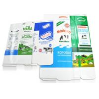Quality Hot Filling Microwave Gable Top Cartons Aseptic Packaging Material For Milk Juice for sale