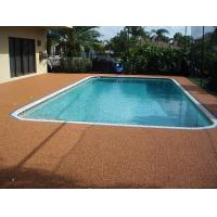 Quality Sports Field Rubber Flooring Around Pools 100% EPDM Fragmented Crumb Raw Material for sale