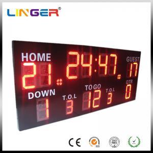 China Wireless Control Germany / American Electronic Soccer / Football Scoreboard on sale