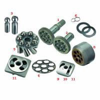 Quality Drive Shaft Hydraulic Piston Pump Spare Parts / Rear Cover for A6VM A7VO Pump for sale