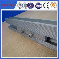 Quality solar panel mounting aluminum rail,Anodized Aluminum Solar Roof Rail extrusion for sale