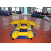 Quality Digital Printing Inflatable Water Games Boat  2.97 X 2.7m Durable PVC Tarpaulin for sale
