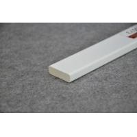 Quality Crown Molding White Plastic Extrusion Profiles For Interior Decoration for sale