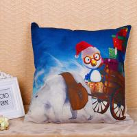 Quality Colorful Decorative Pillow Covers Square Shape 45 * 45cm With Custom Logo for sale