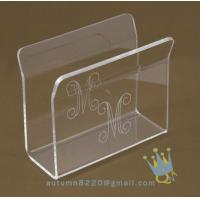 Quality acrylic napkin stand for sale