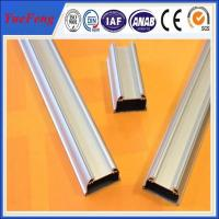 Quality Anodized matt aluminium profile accessories for led,aluminium extrusion for led tube for sale