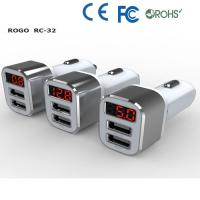 Quality promotional 3 port usb car charger supplier for sale