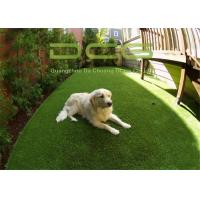Quality Garden Decoration Synthetic Artificial Grass For Pets Anti UV Fire Resistance for sale