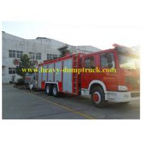 China Sinotruk Howo Water Tank 12000L Fire Engine Truck with warranty on sale