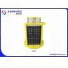 Buy cheap Medium intensity Solar Aviation Obstruction Light Red Flashing 20fpm 2000cd f-864 from wholesalers
