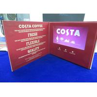 Quality VIF Free Sample Customized printing 7 inch lcd HD screen video brochure bult in 2GB memory for invitation,advertising for sale