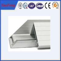 Quality solar panel frames aluminum extrusion profiles, solar frame price per sets for sale