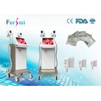 China 15 inch Champagne Cryolipolysis fat reduction cold zero cryo lipo laser machine  with strong cooling system on sale