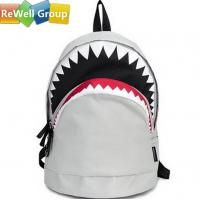 China Personalized Shark Laptop Backpack Bags on sale
