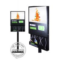 China 55 inch LCD Android Wifi Digital Signage with mobile phone charging station on sale