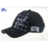 Quality Printing and Embroidery 100%  Cotton Cool Baseball Caps for Boys / Man , Custom Size and Color for sale