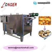 China Durable Use Peanut Roasting Machine | Groundnut Roaster Electric Gas Heating on sale