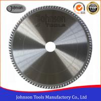 China Aluminum Cutting TCT Saw Blade / Circular Saw Blade 250mm To 500mm for sale