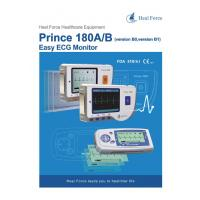 Quality HEAL FORCE PRINCE 180B Handheld Easy ECG EKG Portable Heart Monitor Software Electrocardiogram Electro CE for sale