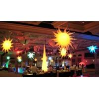 Quality Led Light Inflatable ,Colourful Inflatable Star Lights For Event Decoration for sale