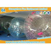 Quality Customized Transparent Inflatable Zorb Ball Hamster Ball With Digital Printing for sale