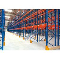 China Blue Orange Industrial Galvanised Pallet Racking Shelves Material Handling Racks on sale