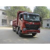 China 2015 Year Second Hand Dump Truck Left Hand Driving Type 31000 KG Gross Weight on sale