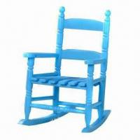 Quality Kid's Wooden Rocking Chair, Available in Various Sizes and Colors for sale
