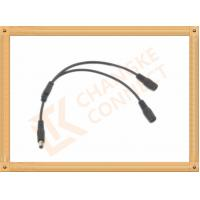 Quality OEM / ODM DC12V custom power cables Male To Female 1 To 2 Y Type for sale