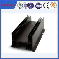 Quality Customized electronic enclosure extruded aluminum manufacturer, fin aluminum profiles for sale