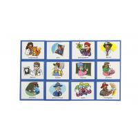 China Waterproof Surface Magnetic Sign Printing , Magnetic Card Printing Various Thicknes on sale