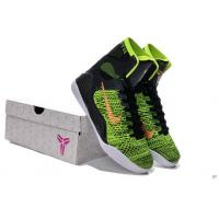 Buy cheap koonba.com retail Nike Kobe 9 High Black Green low price from wholesalers
