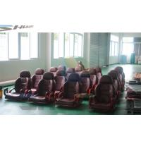Quality Flat / Arc / Circular / Globular Screen 5D Cinema System With Motion Theater Chair for sale