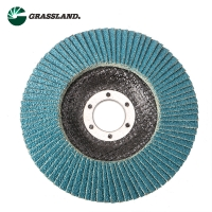 Quality 115mm 60 Grit Zirconium Angle Grinder Sanding Flap Disc for sale