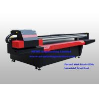 Quality Ricoh GEN5 Print Head digital uv flatbed printer For Building & Decoration for sale